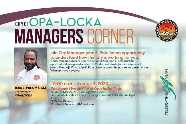 Opa-locka Managers Corner