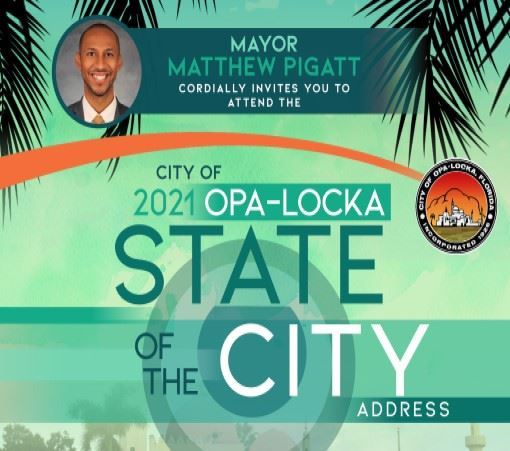Opa-locka 2021 State of the City Address Image